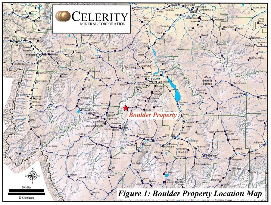 Figure 1 Boulder property location map-2000